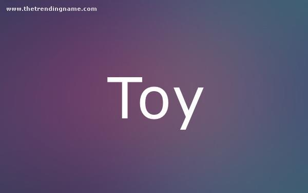 Baby Name Poster For Toy