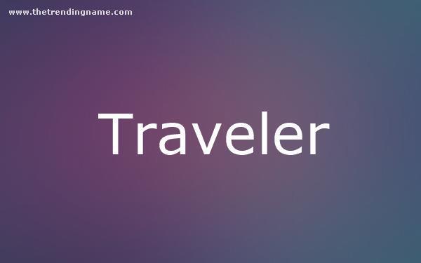 Baby Name Poster For Traveler
