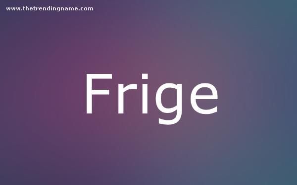 Baby Name Poster For Frige