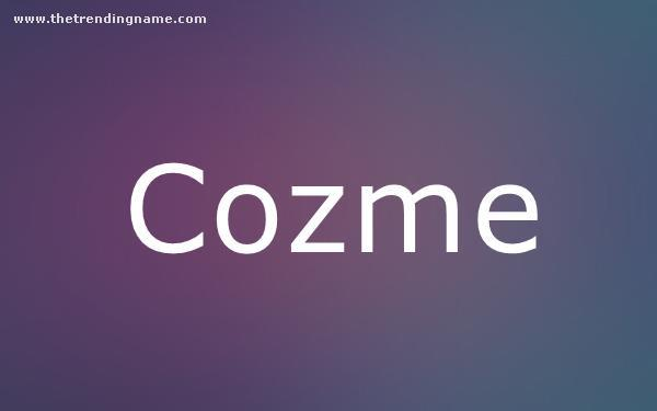Baby Name Poster For Cozme